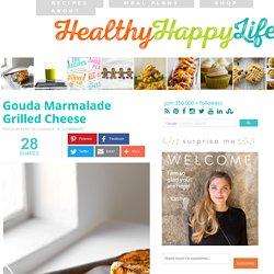 Gouda Marmalade Grilled Cheese - Vegan Recipe