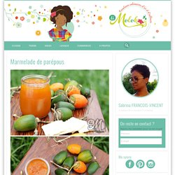 Marmelade de parépous