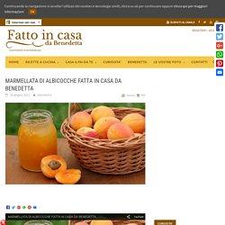 MARMELLATA DI ALBICOCCHE FATTA IN CASA DA BENEDETTA