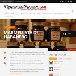 Marmellata di Habanero - PeperonciniPiccanti.com