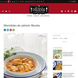 Marmitako de salmón. Receta de cocina fácil, sencilla y deliciosa