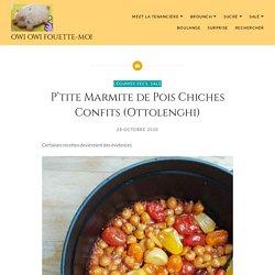 P'tite Marmite de Pois Chiches Confits (Ottolenghi)
