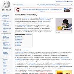 Marmite (Lebensmittel)