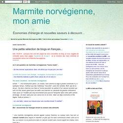 Une petite sélection de blogs en français...