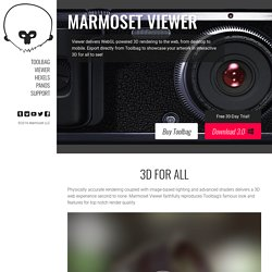 Viewer – Marmoset