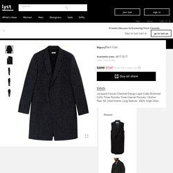 Marni Coat in Black for Men