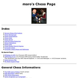 maro's Chess Page
