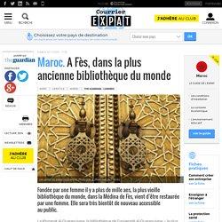 Maroc. A Fès, dans la plus ancienne bibliothèque du monde