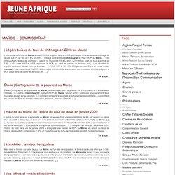 Plan + Commissariat + Maroc