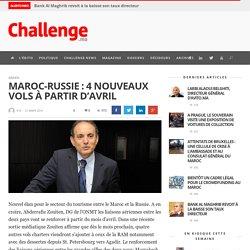 Maroc-Russie: 4 nouveaux vols à partir d'avril