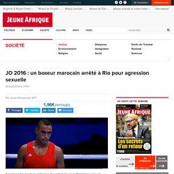 JO 2016 : un boxeur marocain arrêté à Rio pour agression sexuelle
