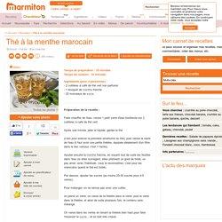 Thé à la menthe marocain : Recette de Thé à la menthe marocain