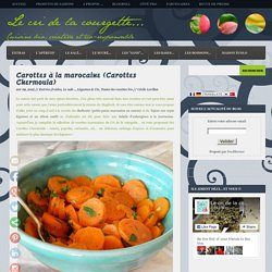 Carottes à la marocaine (Carottes Chermoula)