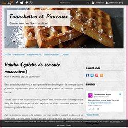 Harcha (galette de semoule marocaine) - Fourchettes et Pinceaux