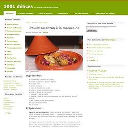 Poulet au citron à la marocaine