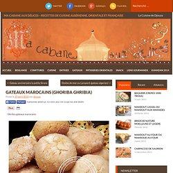 Gateaux marocains (Ghoriba ghribia)
