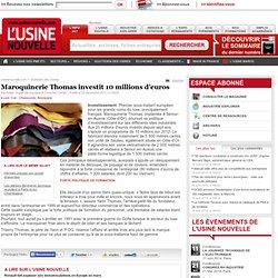 Maroquinerie Thomas investit 10 millions d'euros - Cuir - Chaussures