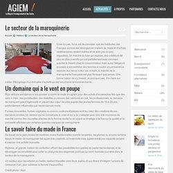 Focus sur le secteur de la maroquinerie