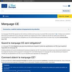 Marquage CE: obtenir le certificat, exigences de l'UE - L'Europe est à vous