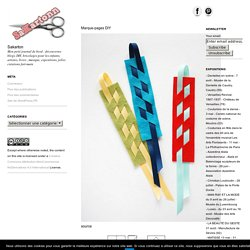 Marque-pages DIY – Sakarton