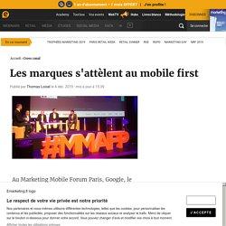 Les marques s'attèlent au mobile first