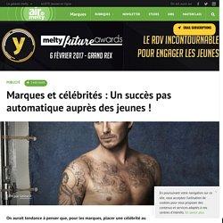 Marques et célébrités : Un succès pas automatique auprès des jeunes !