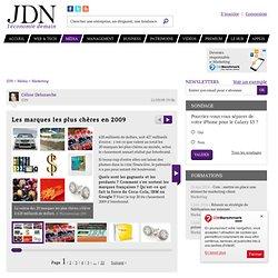 Les marques les plus chères en 2009 - Journal du Net