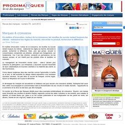 Marques & croissance - Olivier Desforges