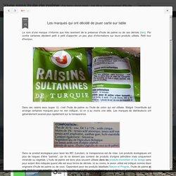 Vivre sans huile de palme: Les marques qui ont décidé de jouer carte sur table