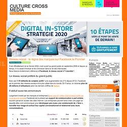 Culturecrossmedia est votre blog dédié au cross média : articles, vidéos, chiffres clés au sujet des campagne de communication cross media mais également toutes les nouv