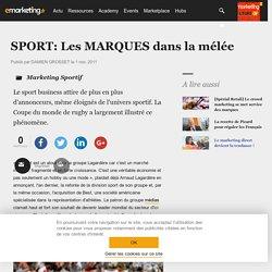SPORT: Les MARQUES dans la mélée - Marketing Sportif