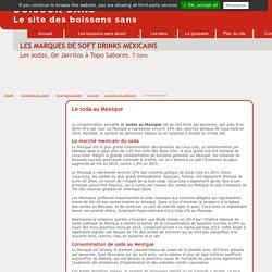 Les marques de soda au Mexique. De Jarritos à Topo Sabores.