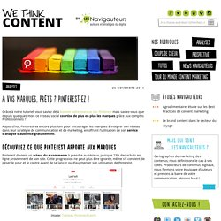 A vos marques, prêts ? Pinterest-ez ! - We think content