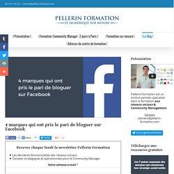 4 marques qui ont pris le pari de bloguer sur Facebook