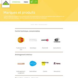 Marques et produits