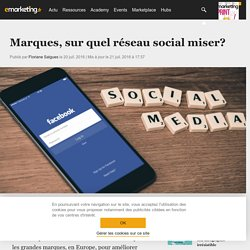 Marques, sur quel réseau social miser? - Social marketing