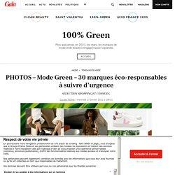 PHOTOS – Mode Green – 30 marques éco-responsables à suivre d'urgence