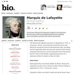 Marquis de Lafayette - Military Leader
