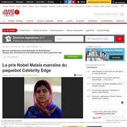 La prix Nobel Malala marraine du paquebot Celebrity Edge