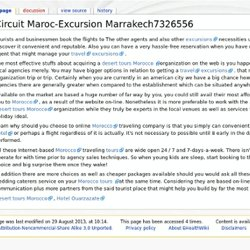 Circuit Maroc-Excursion Marrakech7326556 - EHealthWiki