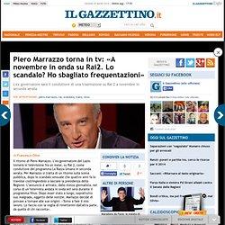 Piero Marrazzo torna in tv: «Lo scandalo? Sbagliai frequentazioni» - Cyberfox