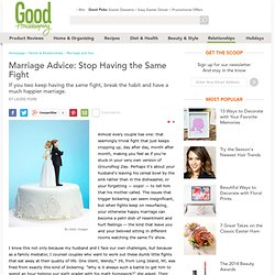 Marriage Issues - How to Stop Arguing