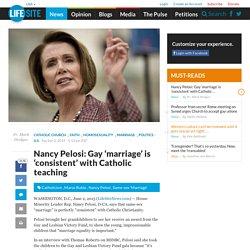 Nancy Pelosi Gay Marriage 14