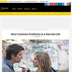 Most Common Problems in a Married Life