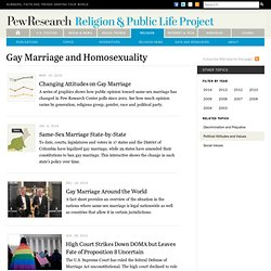Gay Marriage & Homosexuality