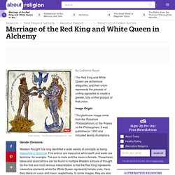 Marriage of the Red King and White Queen in Alchemy