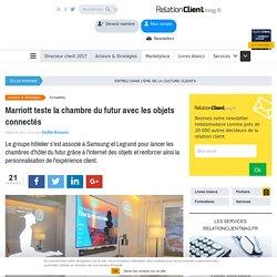 Marriott teste la chambre du futur avec les objets connectés