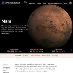 Mars – NASA Solar System Exploration