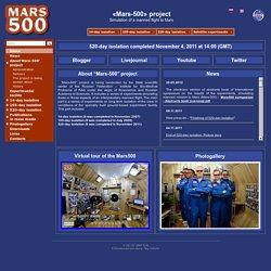 «Mars-500» project