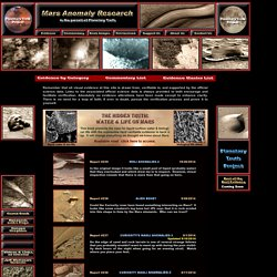 Mars Anomaly Research Home Page
